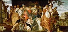 Veronese | Ointment of David, c.1555/60 | Giclée Canvas Print