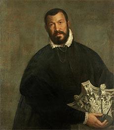 Portrait of the Architect Vincenzo Scamozzi, c.1585 by Veronese | Giclée Canvas Print