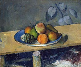 Cezanne | Apples, Peaches, Pears and Grapes, c.1879/80 by | Giclée Canvas Print