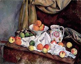 Cezanne | Compotier, Pitcher and Fruit | Giclée Canvas Print