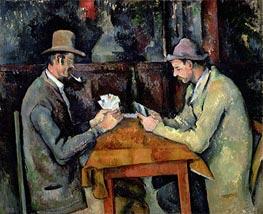 Cezanne | The Card Players | Giclée Canvas Print