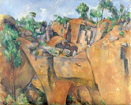 Cezanne | The Bibemus Quarry | Giclée Canvas Print