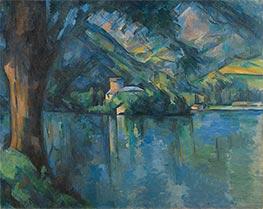 Cezanne | The Lac d'Annecy | Giclée Canvas Print