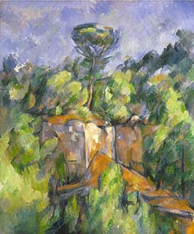 Cezanne   The Bibemus Quarry   Giclée Canvas Print