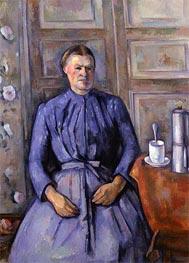 Cezanne | Woman with a Coffee Pot, c.1890/95 | Giclée Canvas Print