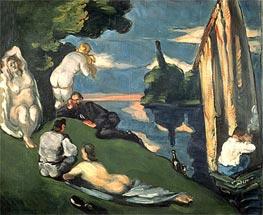 Cezanne | Pastoral or Idyll | Giclée Canvas Print
