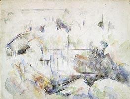 Cezanne | House Among Trees | Giclée Canvas Print