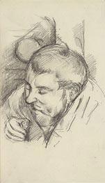Cezanne | Portrait of a Man (Emile Zola), c.1882/83 | Giclée Paper Print