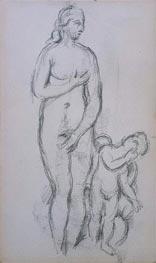 Cezanne | Antique Aphrodite and Eros, c.1885/90 | Giclée Paper Print