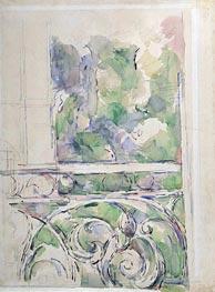 Cezanne | The Balcony, c.1890/00 | Giclée Paper Print