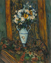 Vase of Flowers, c.1900/03 by Cezanne   Giclée Canvas Print
