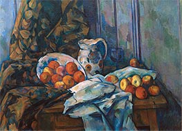 Still Life with Faience Jug and Fruit, c.1900 by Cezanne | Giclée Canvas Print