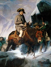 Bonaparte Crossing the Alps, 1848 by Paul Delaroche | Giclée Canvas Print