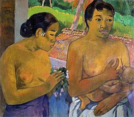 Gauguin | The Offering | Giclée Canvas Print