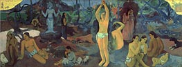 Gauguin | Where do We Come From. What are We Doing. Where Are We Going. | Giclée Canvas Print