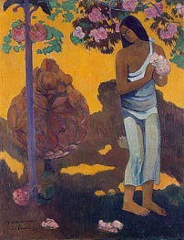 Gauguin | The Month of Mary (Te avae no Maria) | Giclée Canvas Print