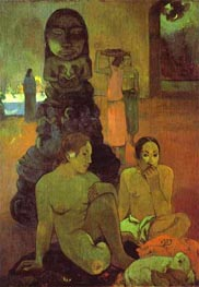 Gauguin | The Great Buddha | Giclée Canvas Print