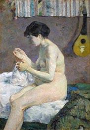 Nude, 1880 by Gauguin | Giclée Canvas Print