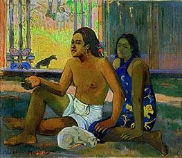 Gauguin | Eiahe Ohipa - Do not Work | Giclée Canvas Print