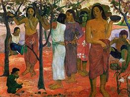 Gauguin | Nave nave nahana (Delicious Day) | Giclée Canvas Print
