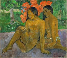 And the Gold of their Bodies, 1901 by Gauguin | Giclée Canvas Print