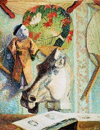 Still Life with Horse's Head, 1886 by Gauguin | Giclée Canvas Print