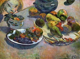 Still Life with Fruits, 1888 by Gauguin | Giclée Canvas Print