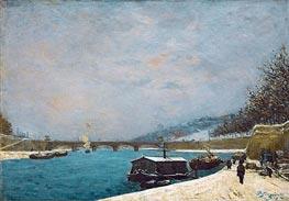 Gauguin | The Seine near the Pont de Jena | Giclée Canvas Print