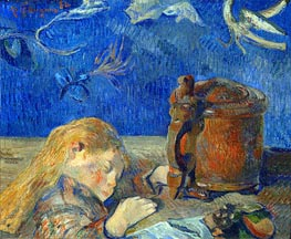 Gauguin | The Sleeping Child | Giclée Canvas Print