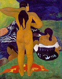 Tahitian Women Bathing, 1892 by Gauguin | Giclée Canvas Print