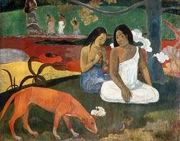 Arearea (Joyousness), 1892 by Gauguin | Giclée Canvas Print