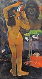 The Moon and the Earth, 1893 by Gauguin | Giclée Canvas Print