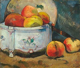 Still Life with Peaches, c.1889 by Gauguin | Giclée Canvas Print
