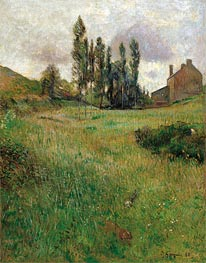 Gauguin | Dogs Running in a Meadow | Giclée Canvas Print