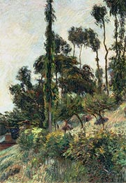 Gauguin | The Side of the Hill, 1884 | Giclée Canvas Print
