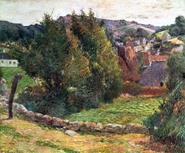 Gauguin | Landscape on the Pont-Aven, 1886 | Giclée Canvas Print