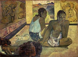 Gauguin | Te Rerioa (Day Dreaming), 1897 | Giclée Canvas Print