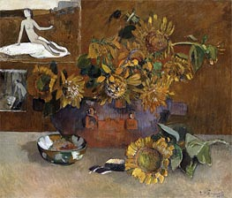 Gauguin | Still Life with l'Esperance, 1901 | Giclée Canvas Print