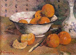 Gauguin | Still Life with Oranges, 1881 | Giclée Canvas Print