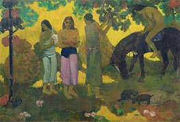 Gauguin | Rupe Rupe (Fruit Gathering), 1899 | Giclée Canvas Print