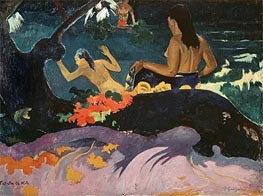 Gauguin | Fatata te Miti (By the Sea), 1892 | Giclée Canvas Print