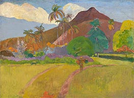 Gauguin | Tahitian Landscape, 1891 | Giclée Canvas Print