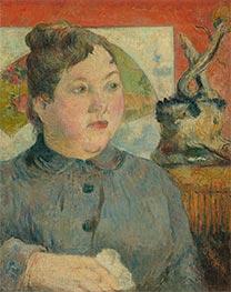 Madame Alexandre Kohler, c.1887/88 by Gauguin | Giclée Canvas Print