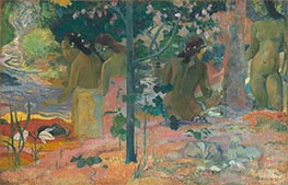 The Bathers, 1897 by Gauguin | Giclée Canvas Print