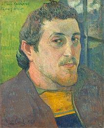 Self-Portrait Dedicated to Carrière, c.1888/89 by Gauguin | Giclée Canvas Print