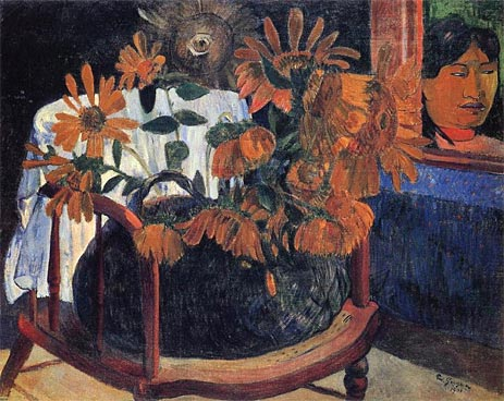 Sunflowers, 1901 | Gauguin | Painting Reproduction