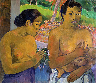 The Offering, 1902 | Gauguin | Painting Reproduction