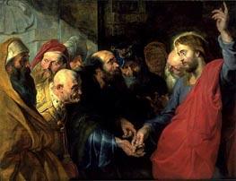 Rubens | The Tribute Money | Giclée Canvas Print