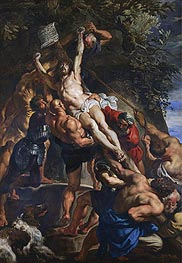 Rubens | The Elevation of the Cross | Giclée Canvas Print