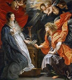 Rubens | The Annunciation | Giclée Canvas Print